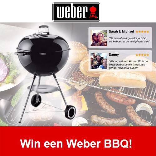 Win een Weber BBQ